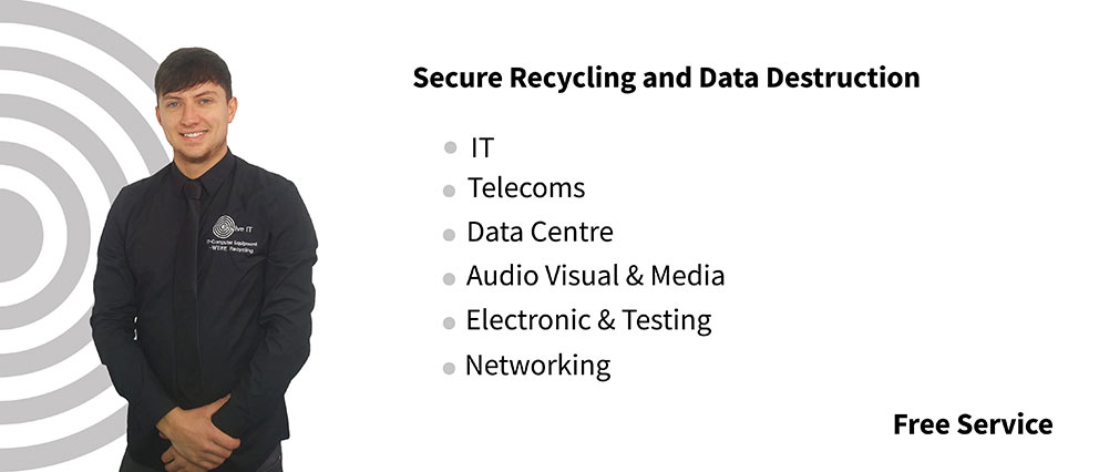 Revive IT specialise in Secure IT Equipment Recycling & Data Destruction Services.