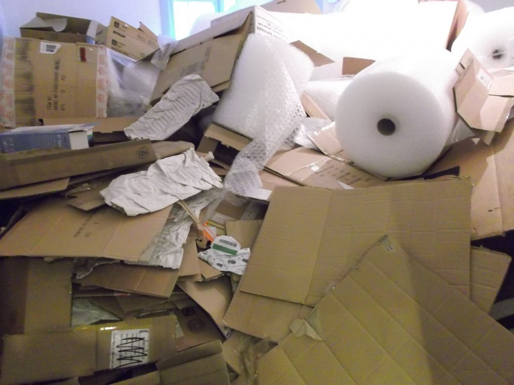 FREE waste Cardboard/Packaging collections in Leeds